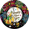 New Year's Eve Accent Magnet