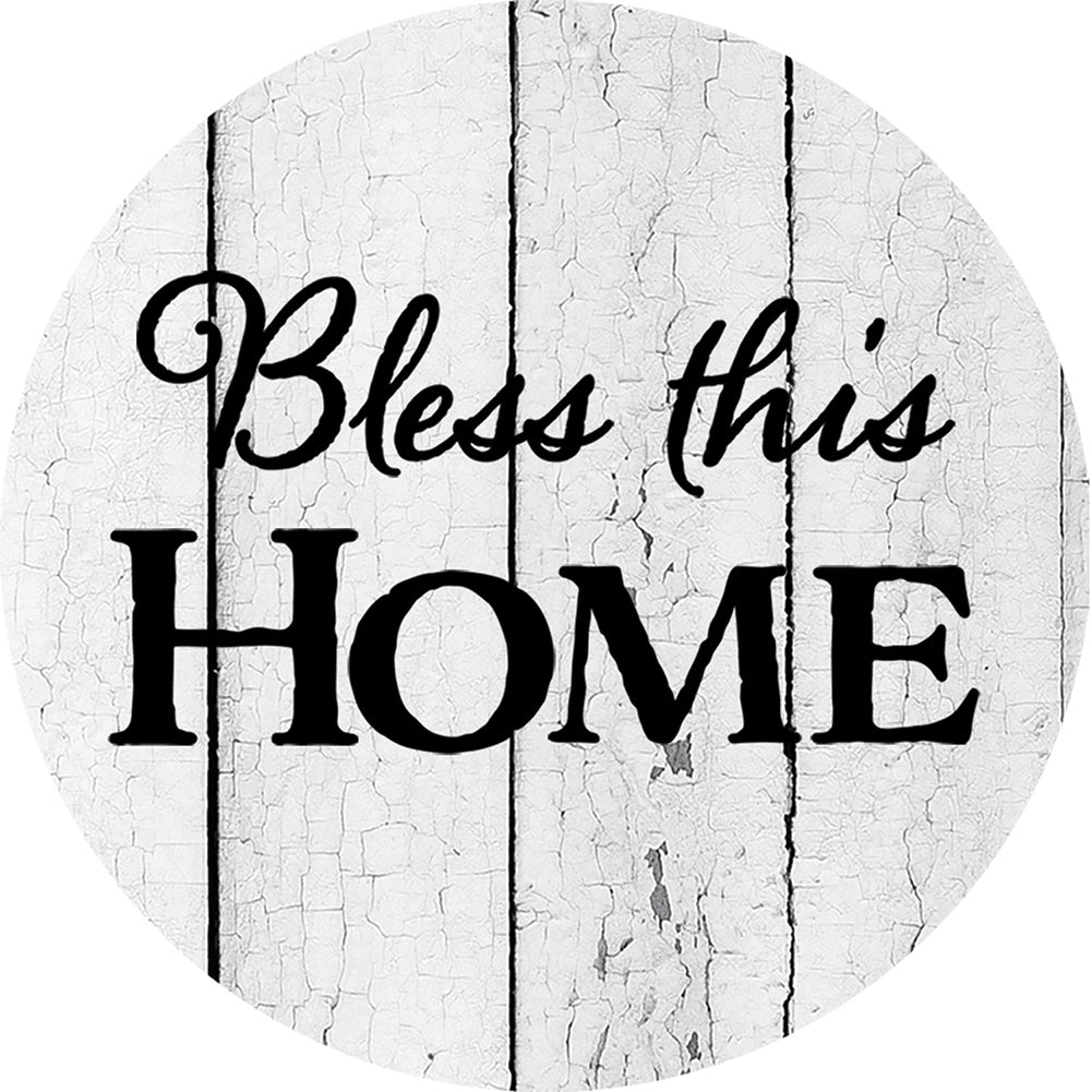 Bless This Home Americana Accent Magnet