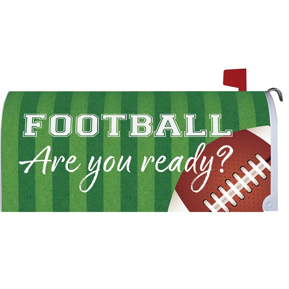 Football Mailbox Cover