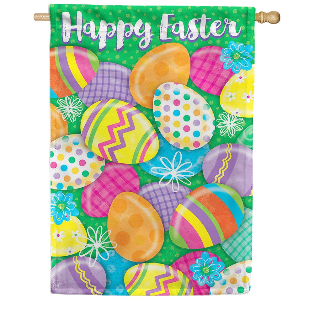 Easter Egg Hunt Holiday Double Sided House Flag