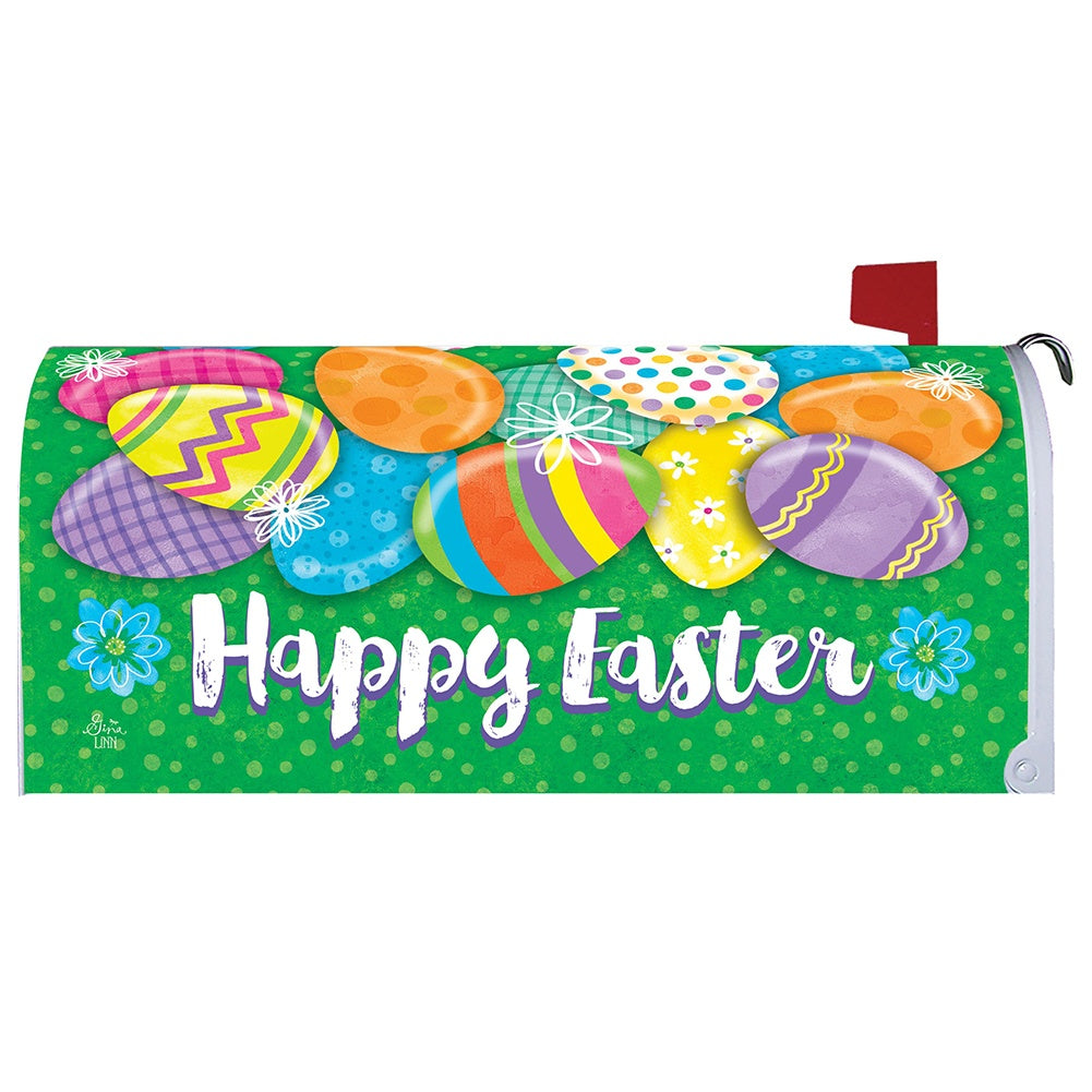 Easter Egg Hunt Holiday Mailbox Cover