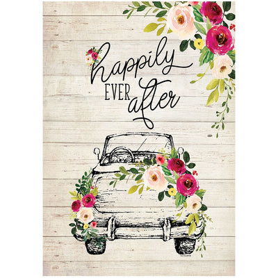 Happily Ever After Double Sided House Flag
