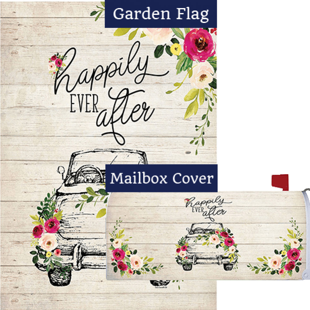 Happily Ever After Flag Mailwrap Set (2 Pieces)