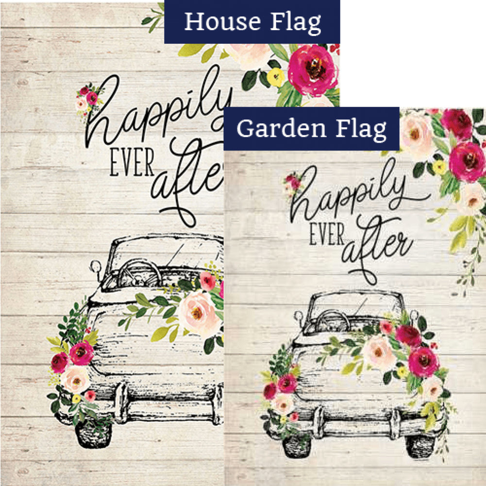 Happily Ever After Flags Set (2 Pieces)