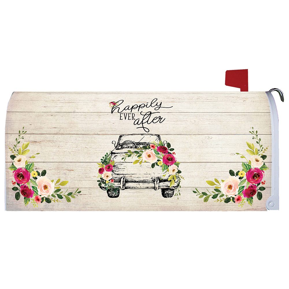 Happily Ever After Mailbox Cover