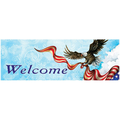 Patriotic Eagle Signature Sign