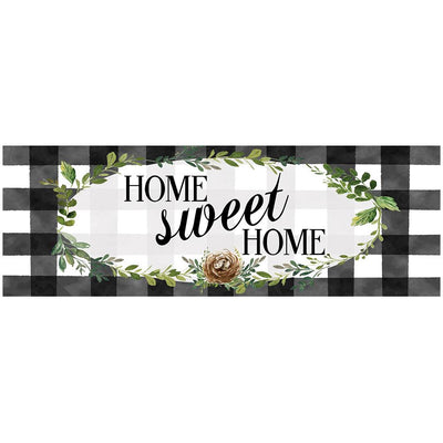 Gingham Home Signature Sign