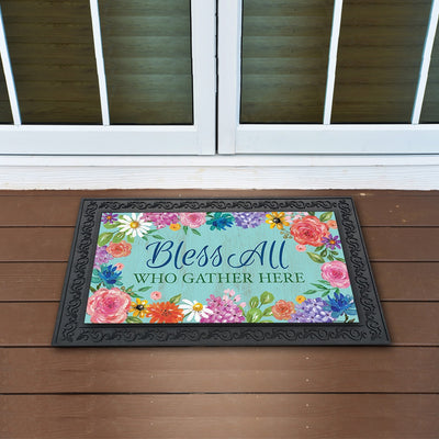 Bless and Gather Doormat
