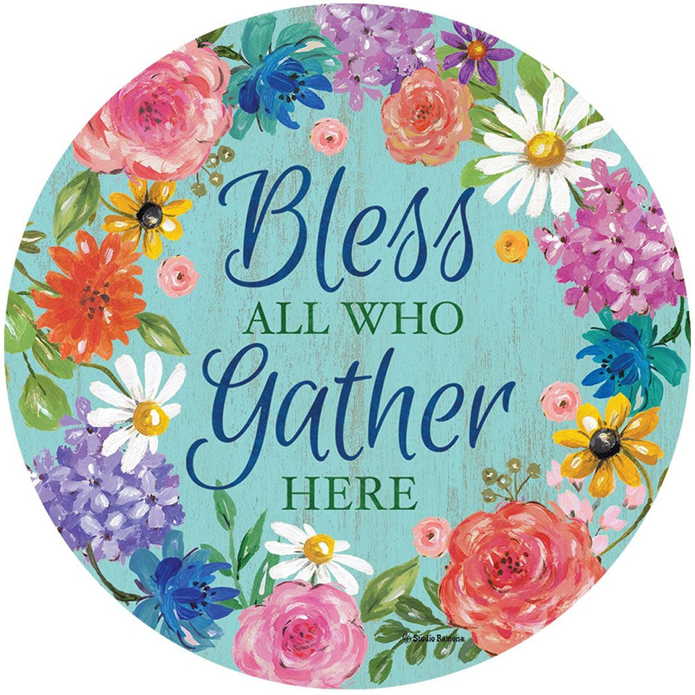 Bless and Gather Accent Magnet
