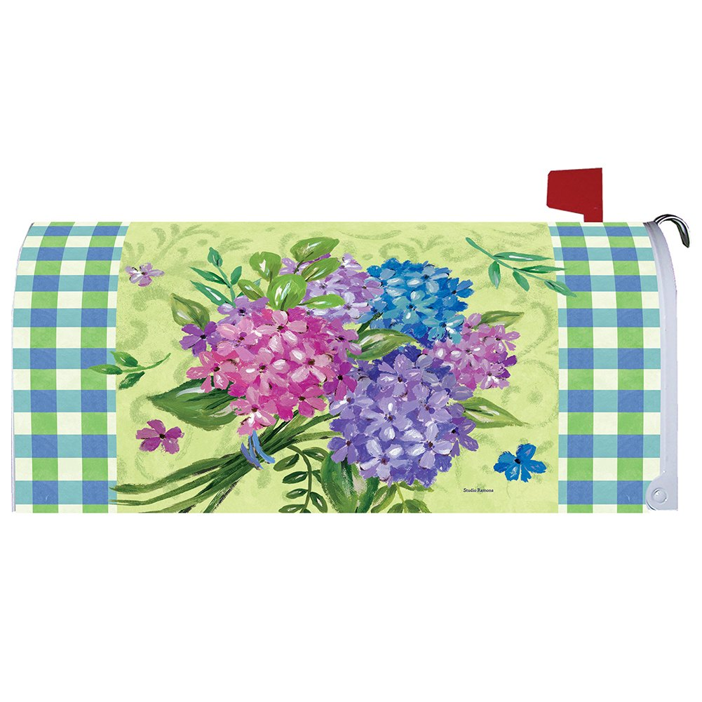 Hydrangea Bouquet Mailbox Cover