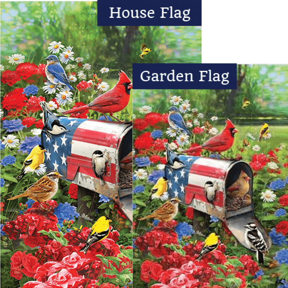 Songbird Mailbox Flags Set (2 Pieces)
