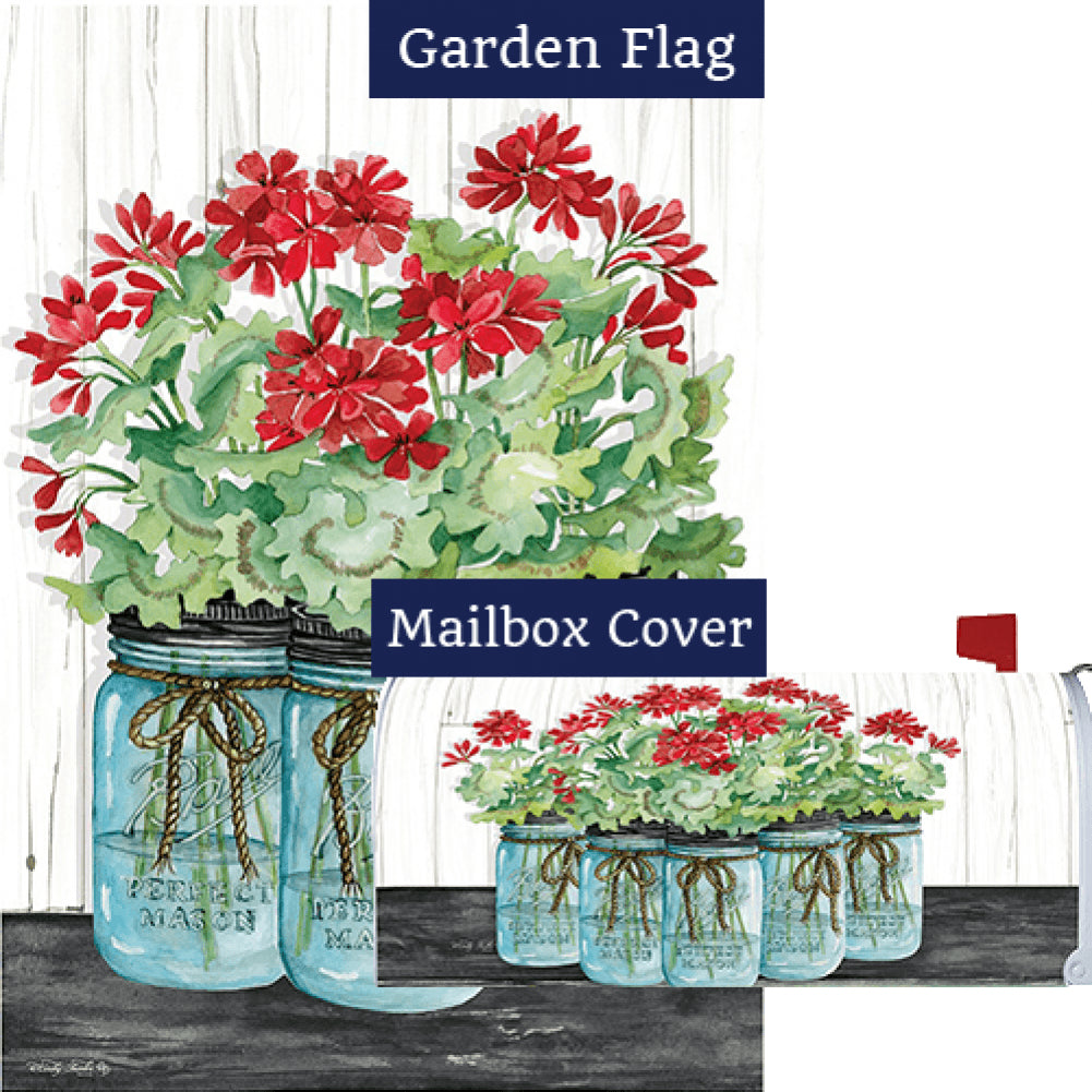 Geranium Jars Flag Mailwrap Set (2 Pieces)