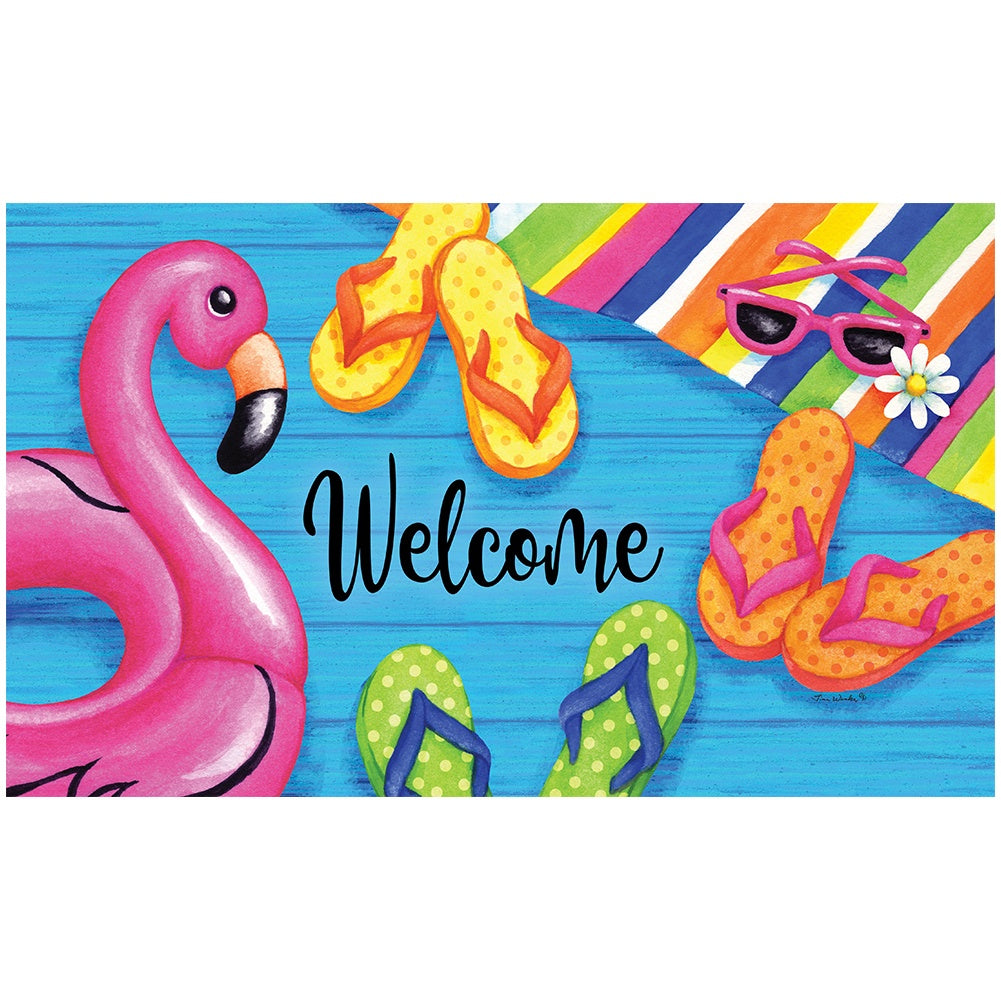 Summer Welcome Doormat