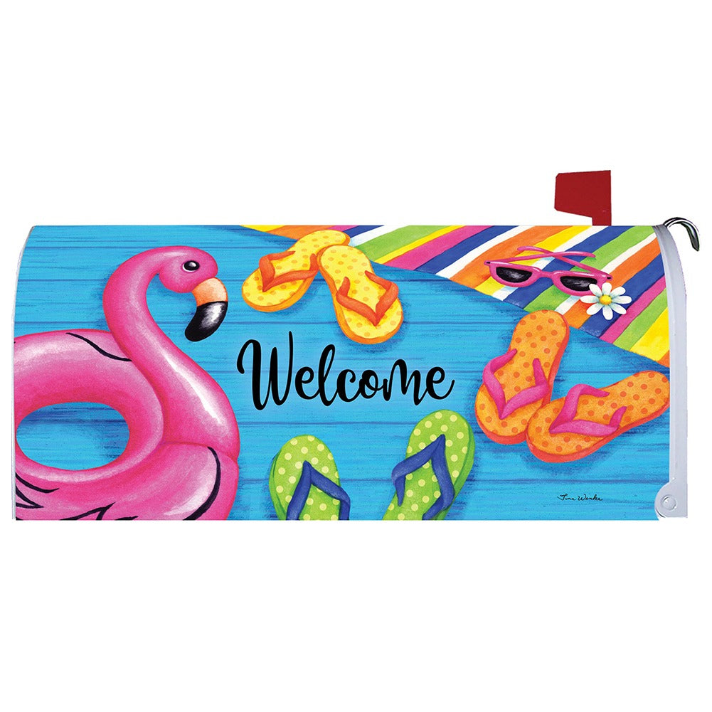 Summer Welcome Mailbox Cover