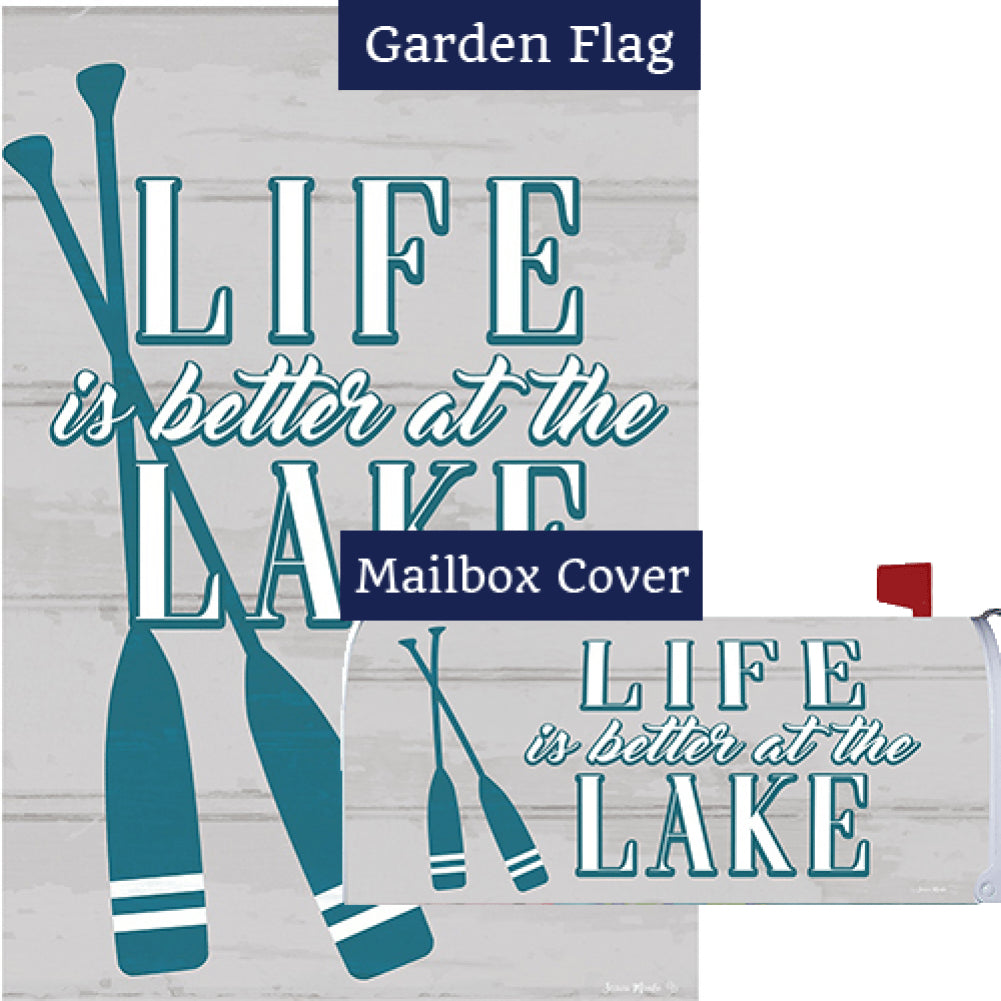 Life at the Lake Flag Mailwrap Set (2 Pieces)