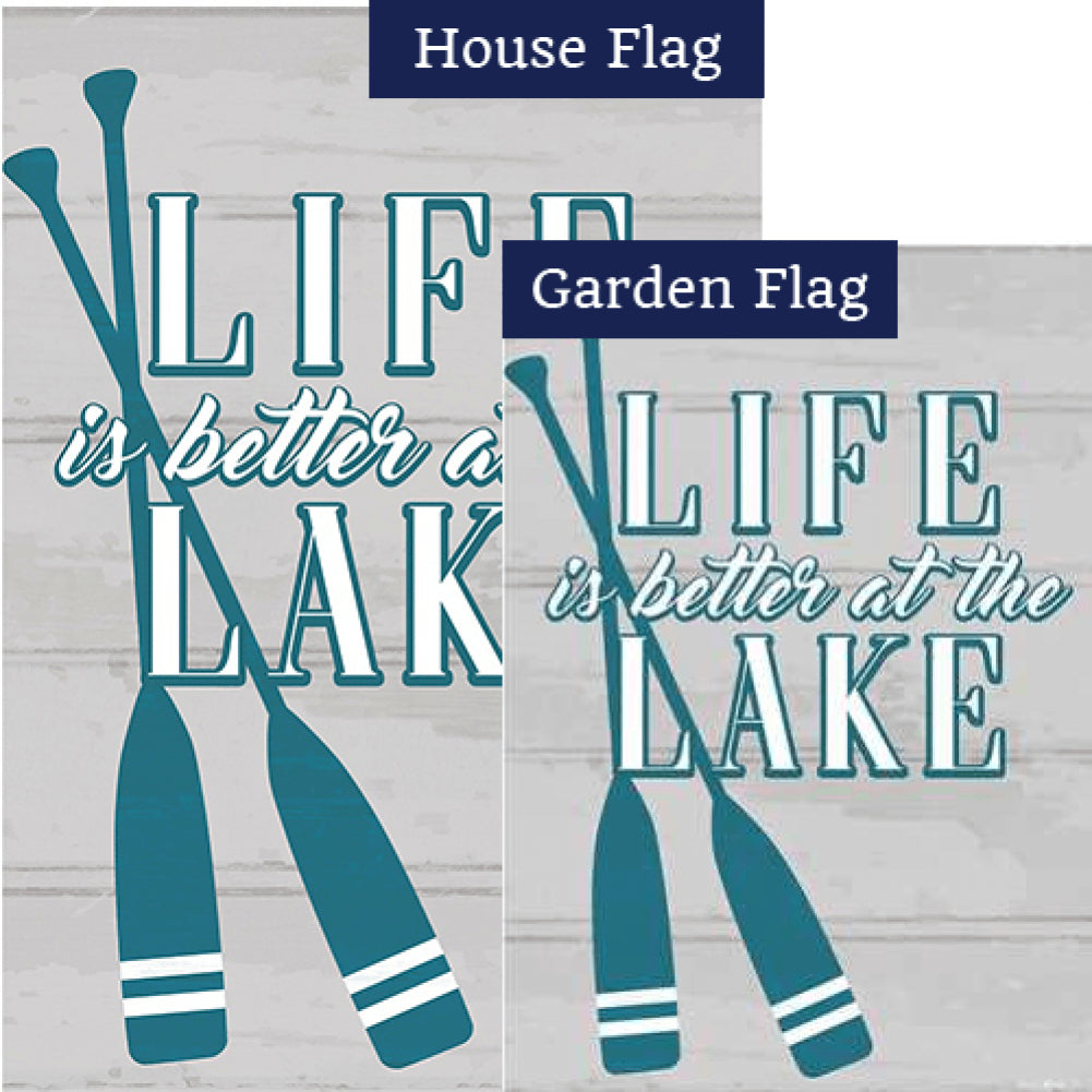 Life at the Lake Flags Set (2 Pieces)