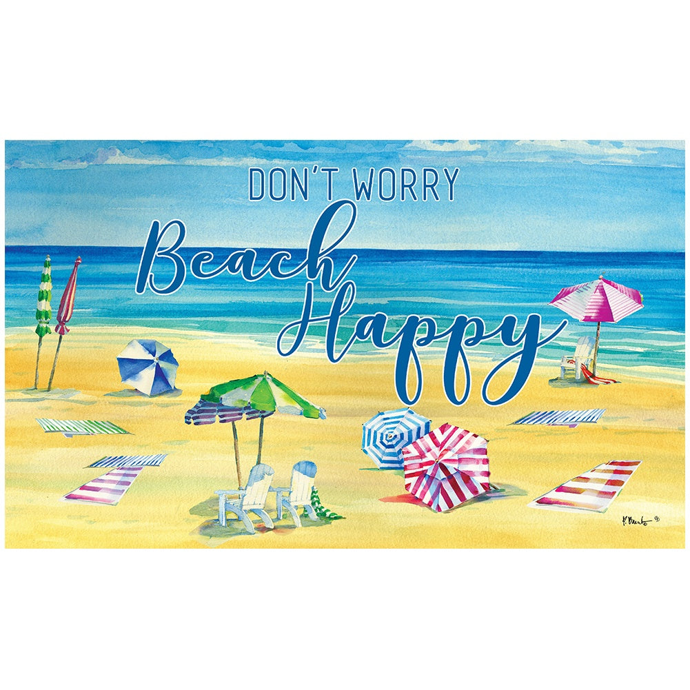Beach Happy Doormat