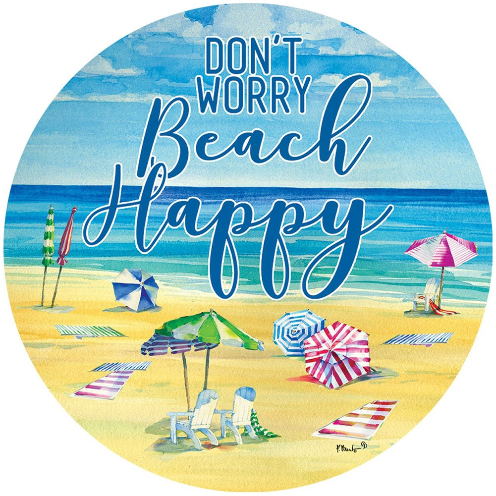 Beach Happy Accent Magnet