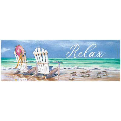 Relax Adirondacks Signature Sign