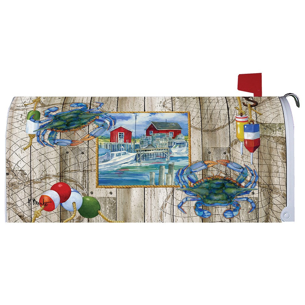 Crab Shack Summer Mailbox Cover