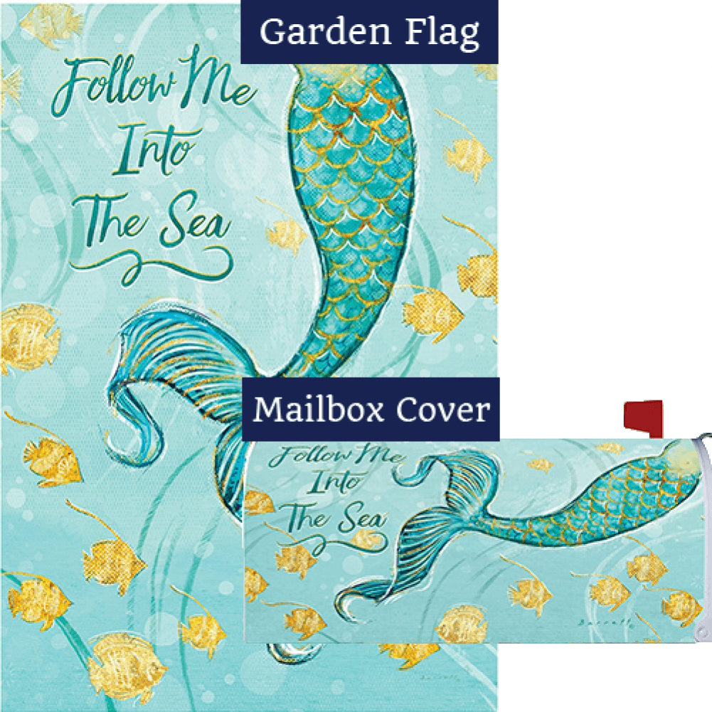 Mermaid Tail Flag Mailwrap Set (2 Pieces)