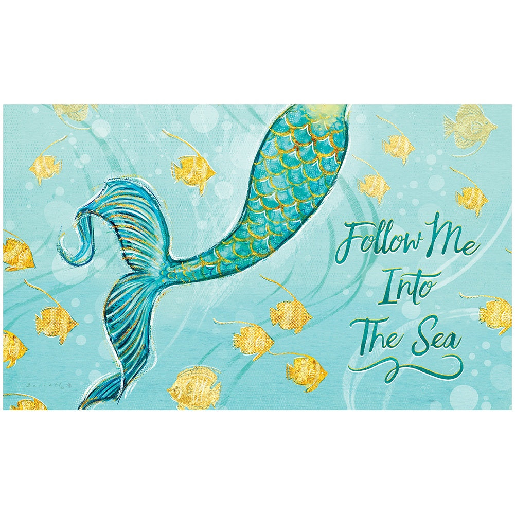 Mermaid Tail Doormat