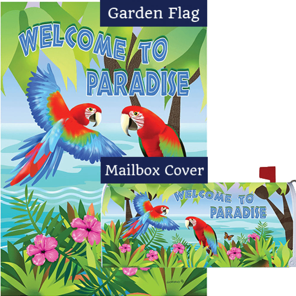Paradise Parrots Flag Mailwrap Set (2 Pieces)