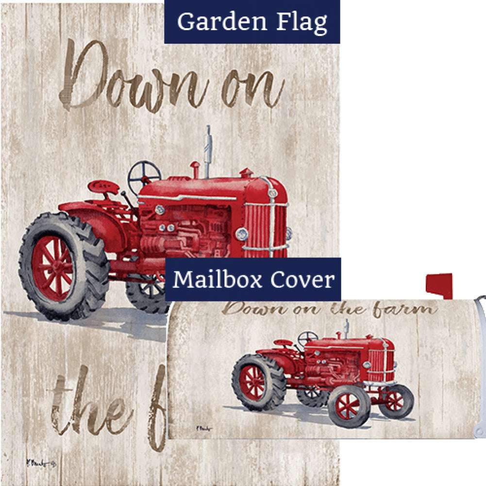 Down on the Farm Flag Mailwrap Set (2 Pieces)