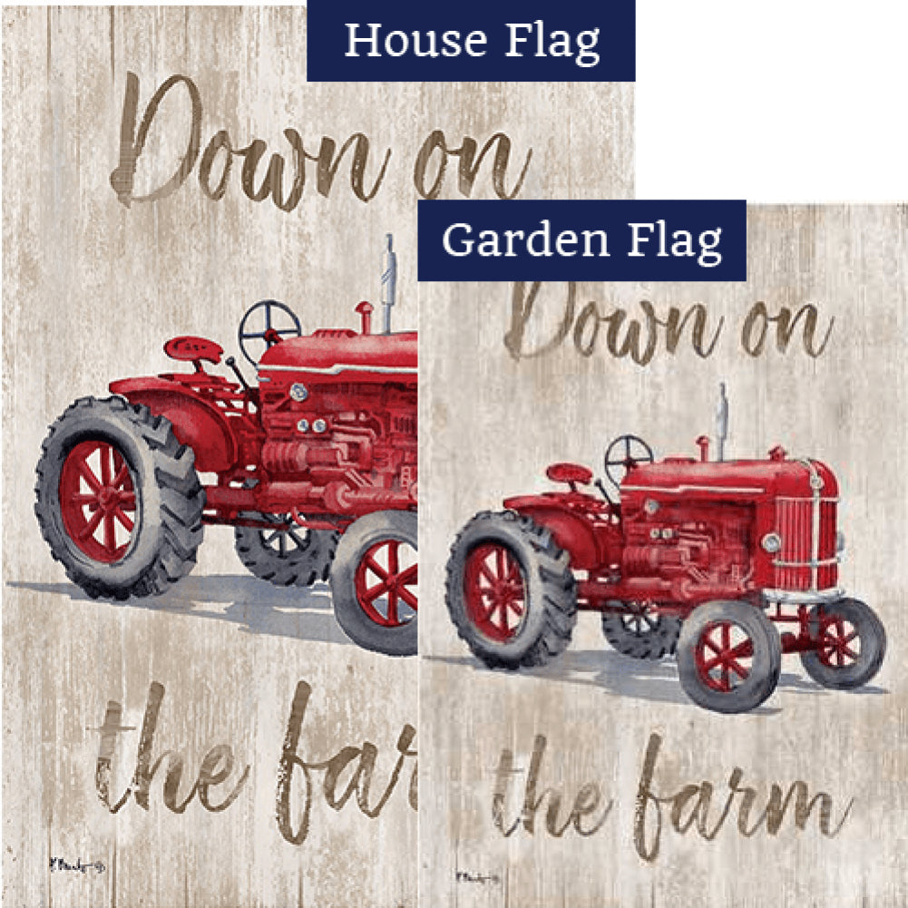 Down on the Farm Flags Set (2 Pieces)