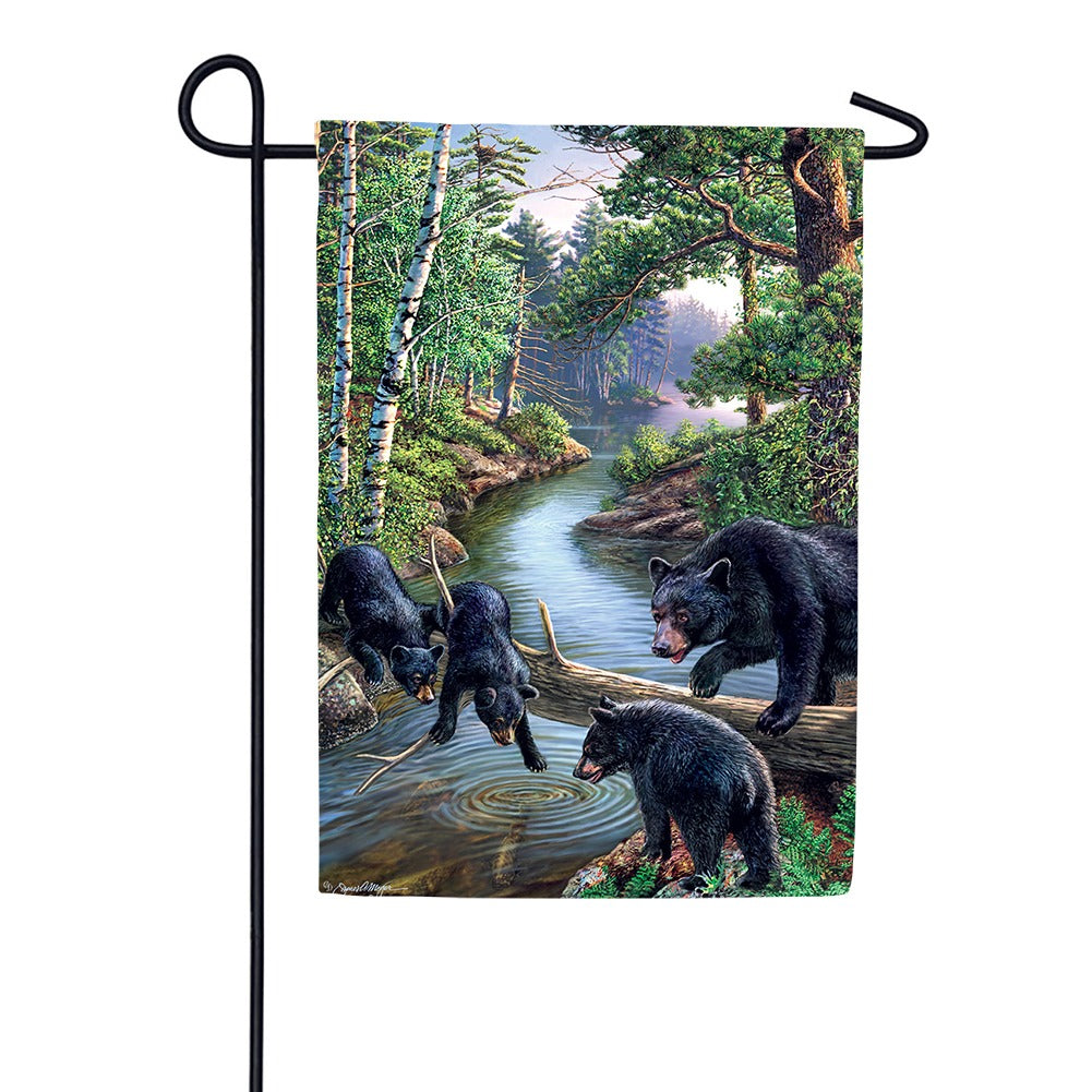 Black Bear Creek Garden Flag