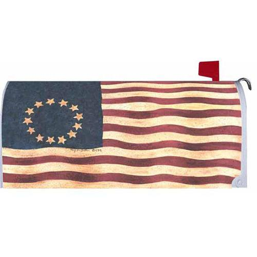 Betsy Ross Mailbox Cover