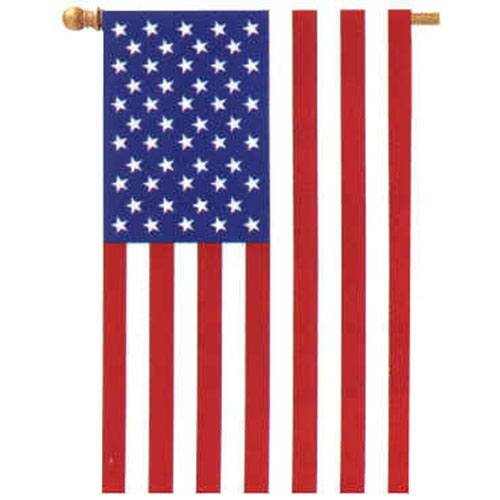 Stars and Stripes American House Flag