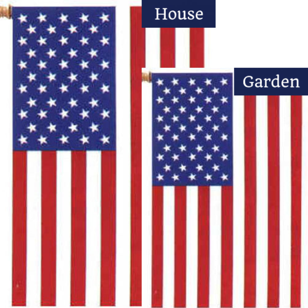 American Flags Set (2 Pieces)