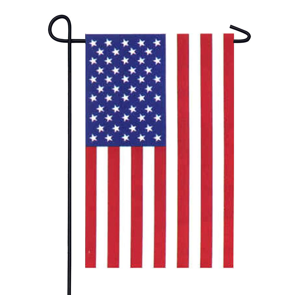 Stars and Stripes American Garden Flag