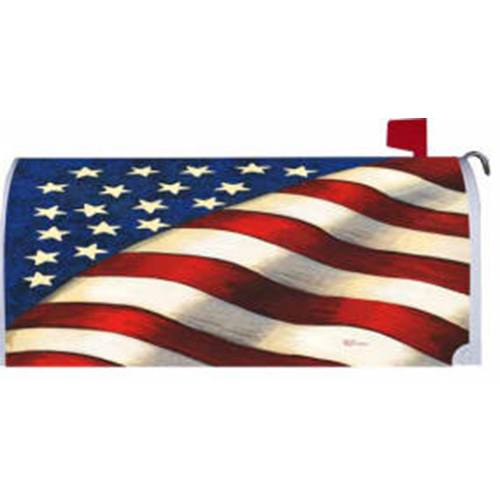 Stars and Stripes American Mailbox Cover