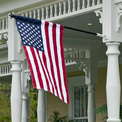 Patriotic American House Flag
