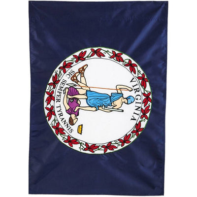Virginia State Appliqued House Flag