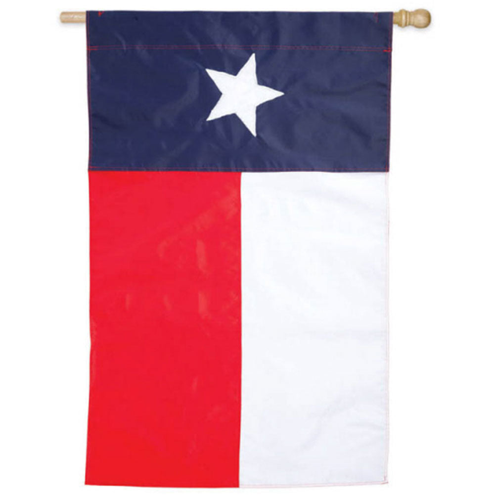Texas State Appliqued House Flag