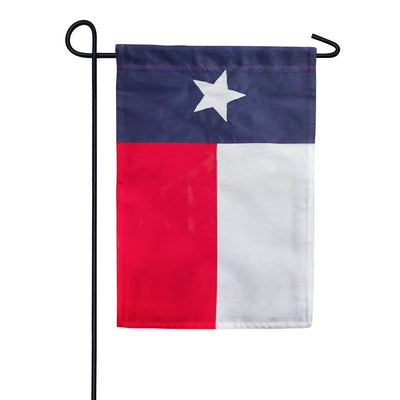 Texas State Appliqued Garden Flag