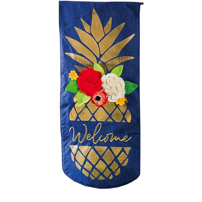 Pineapple Welcome Textile Decor