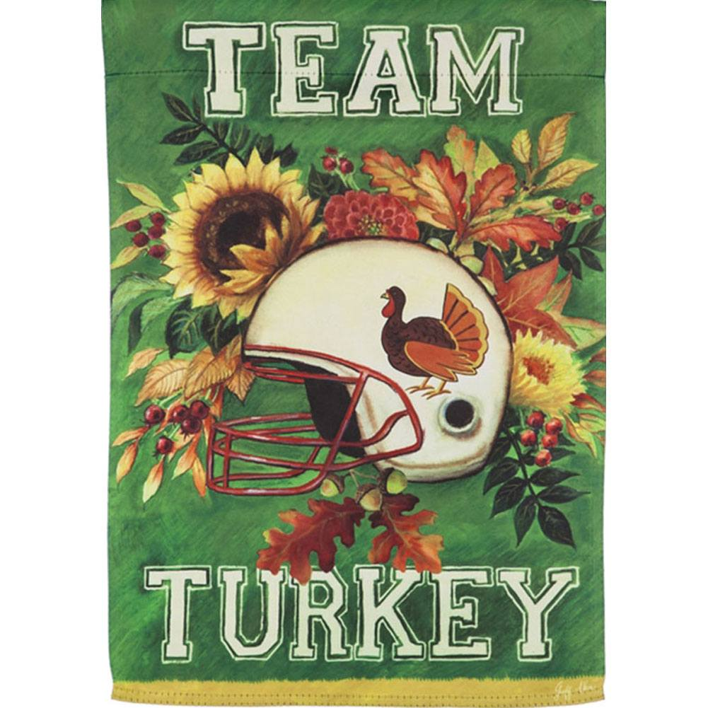 Team Turkey Suede Garden Flag