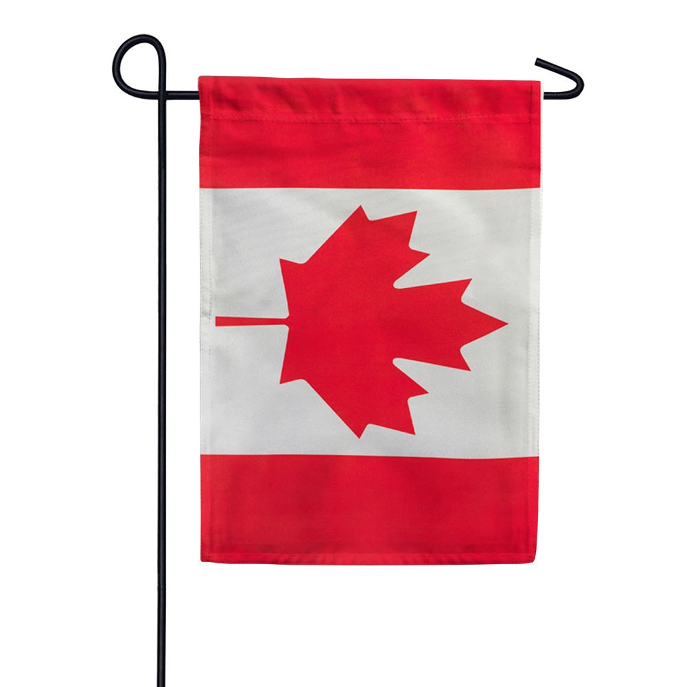 Canada Double Sided Garden Flag
