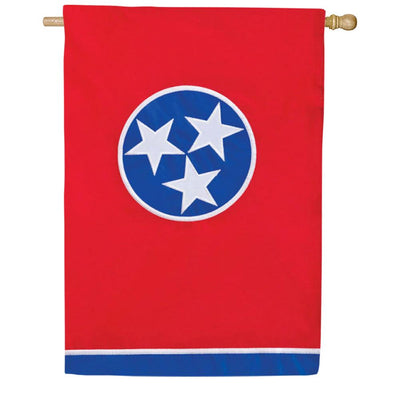 Tennessee State Double Appliqued House Flag