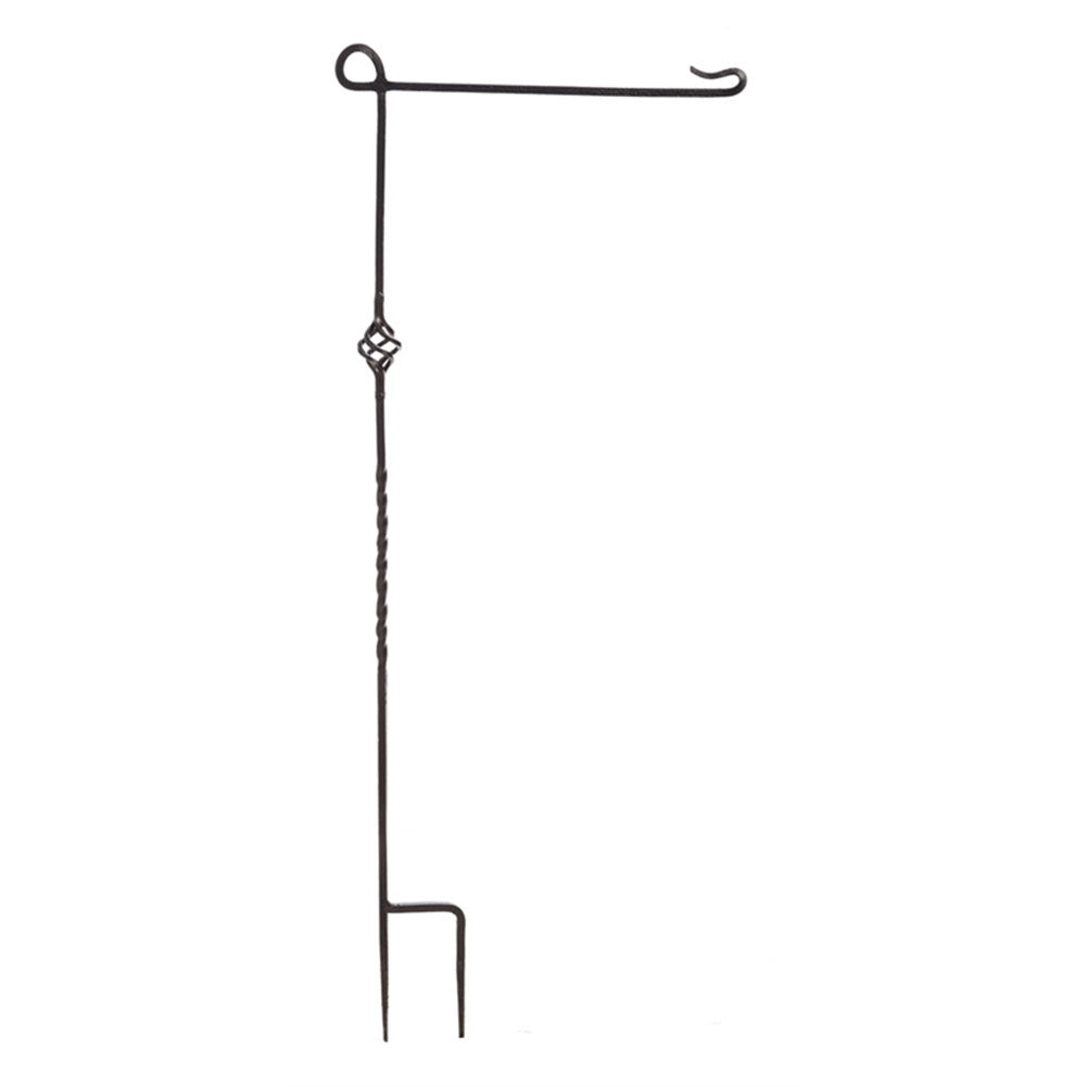 Cast Steel Garden Flag Stand