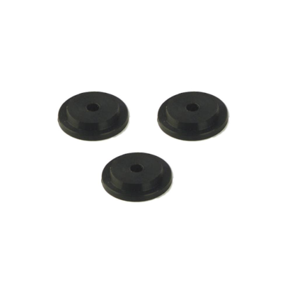 Rubber Stopper - Garden Pole Accessory (3/pack)