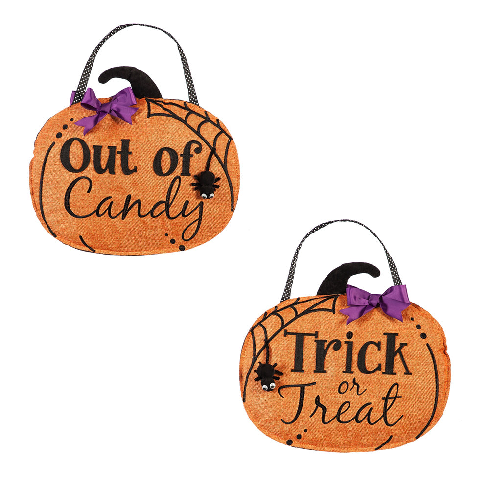 Trick-or-Treat Door Decor