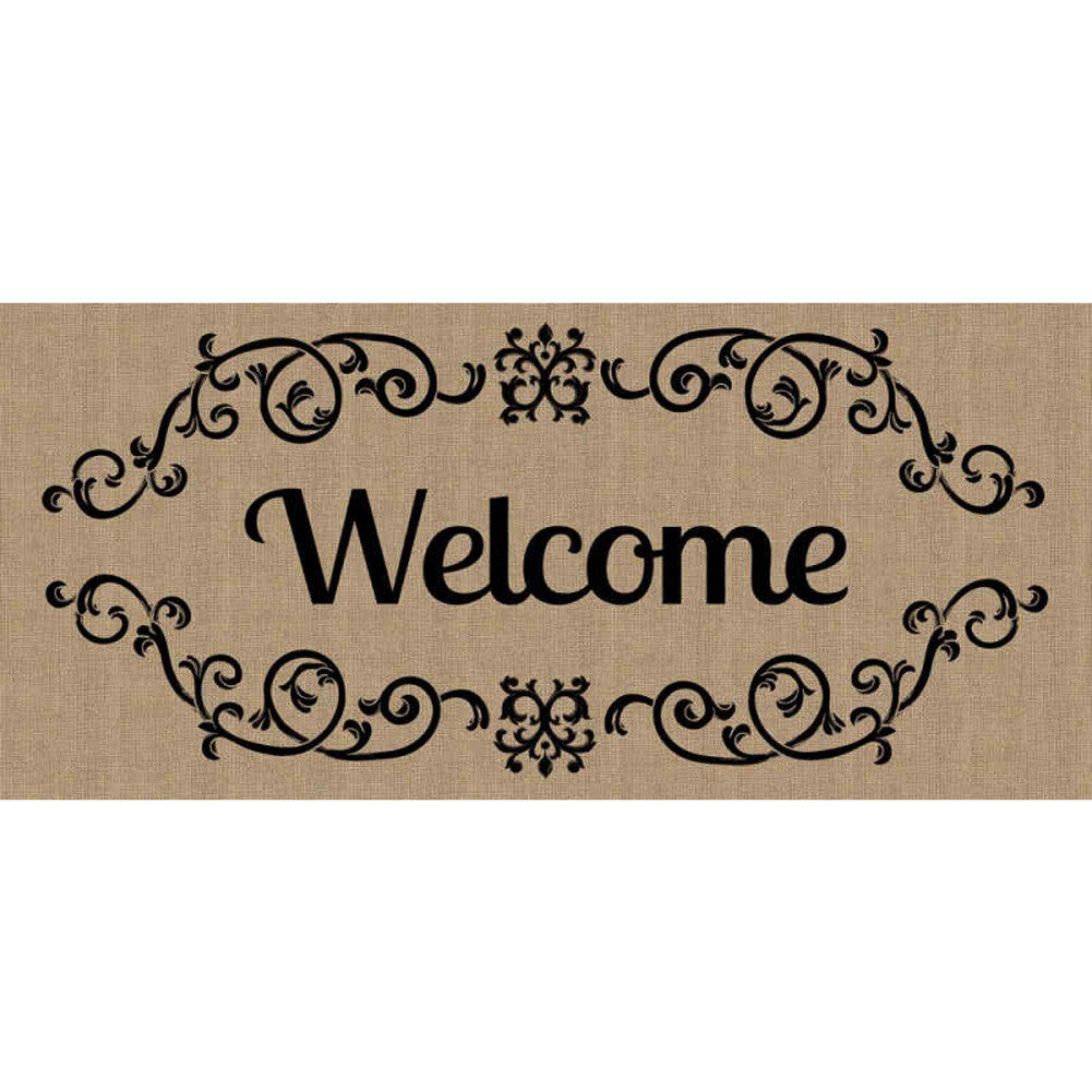 Welcome Scroll Sassafras Switch Mat
