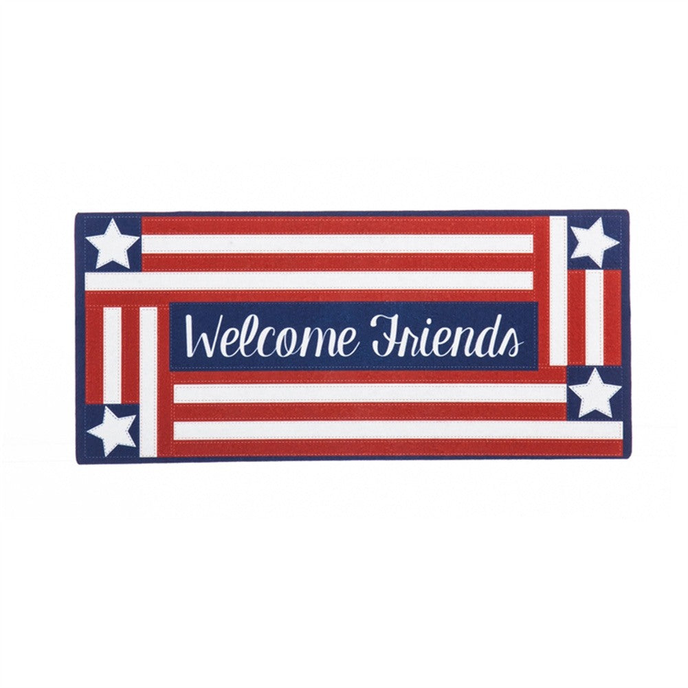 Country Patriotic Sassafras Switch Mat
