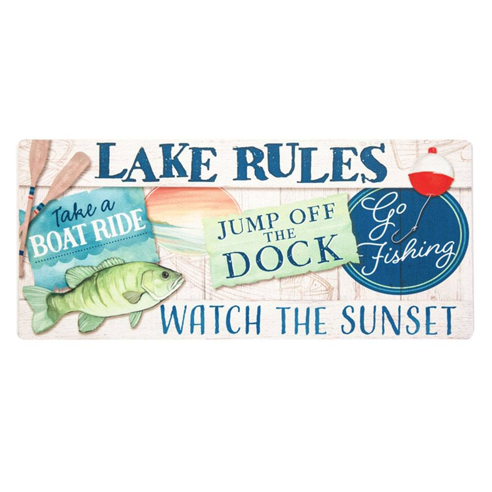 Lake Rules Sassafras Switch Mat