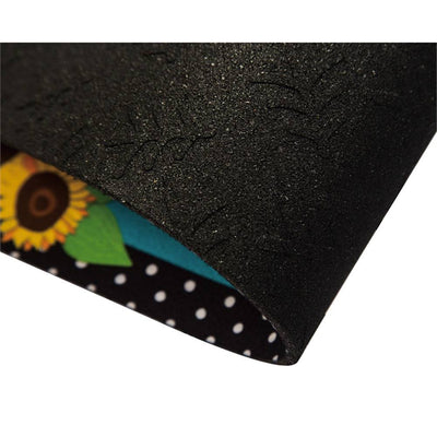 Sunflower Watering Can Welcome Sassafras Switch Mat